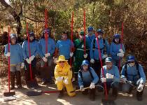Bombeiros do 5º Pelotão em Formiga formam brigadas de incêndio florestal