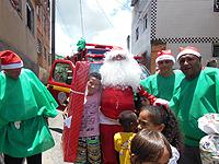 Bombeiros participam de Natal Solidário