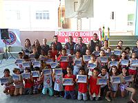 Bombeiros formam 475 alunos do Projeto Bombeiros na Escola