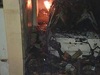 Incêndio em veículo e motocicleta mobiliza os bombeiros