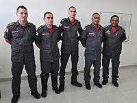 Corpo de Bombeiros recebe três novos Aspirantes a oficiais