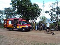 7º Pelotão e 8º Batalhão realizam atuação conjunta para resgatar feridos