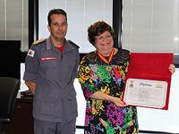 Secretária de Educação recebe Medalha Dom Pedro II