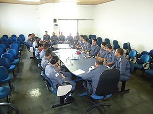Os futuros oficiais exercerão funções de gerência na corporação