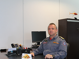 Coronel Luiz Henrique Gualberto assumiu o comando do CBMMG