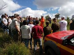 Juiz de Fora – Bombeiros participam do 1º Seminário de Prevenção e Combate à Incêndio Florestal
