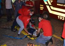Companhia de Bombeiros de Patos de Minas realiza curso de Brigadista e ensina técnicas de Atendimento Pré-Hospitar