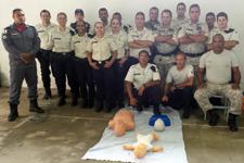 Bombeiros  ministram curso para Agentes Penitenciários da cidade de Curvelo