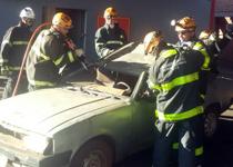 Uberaba – Bombeiros realizam Capacitação de Salvamento Veicular  title=