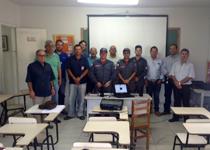 Pelotão de São Lourenço realiza reunião com representantes da Defesa Civil