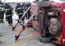 Bombeiros de Varginha realizam curso de Resgate Veicular