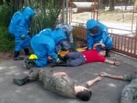 Bombeiros participam de simulado contra atentado terrorista