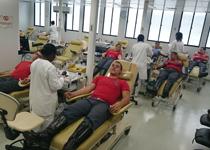 Músicos da BIOS realizam doação de sangue