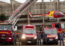 Operação Tiradentes – Bombeiros e policiais militares juntos em todo o país em ações de prevenção