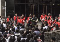 Bombeiros e brigadistas fazem evacuação de funcionários em simulado de incêndio no TJMG
