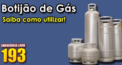 botijão de gás: Saiba utilizar