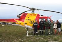Bombeiros resgatam casal perdido na Serra do Cipó