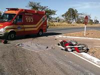 Motociclistas respondem por quase 50% dos acidentes de trânsito atendidos pelos Bombeiros