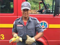 Bombeiros atende, grave acidente no bairro Santo Antônnio